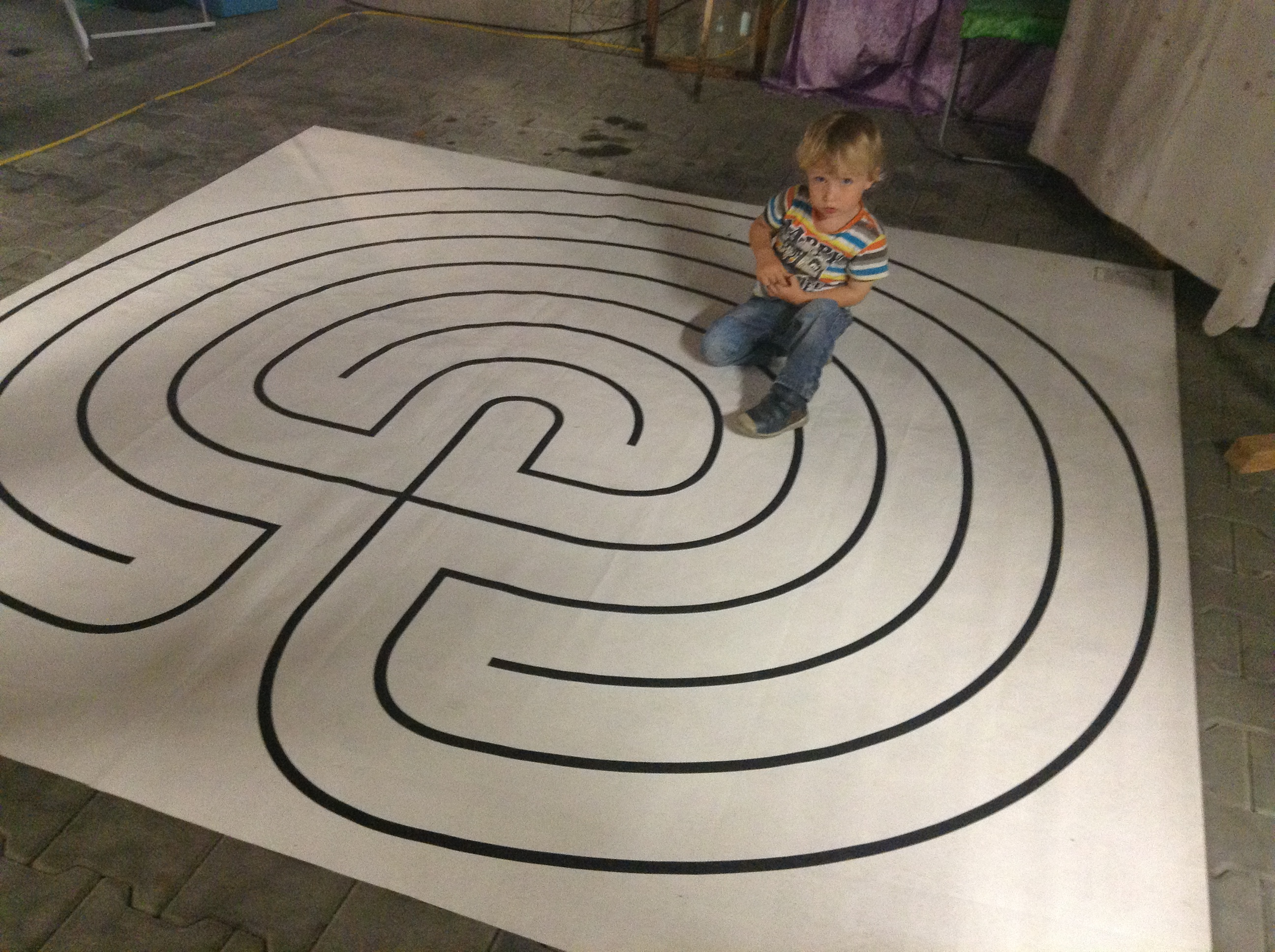 Labyrinth indoor